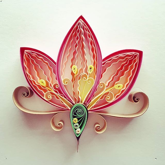 #QuillingByAslim  #quilling  #paper  #papel  #paperart  #handmade  #lotusflower  #lotus  #art #homedecor  #giftideas  #gift  #kağıttelkari  #elişi #hediyelik  #artoftheday