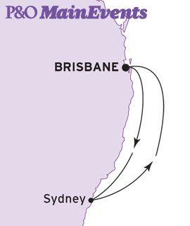 Australia Day Cruise - 4 Nights on the Pacific Dawn Brisbane - Sydney - Brisbane