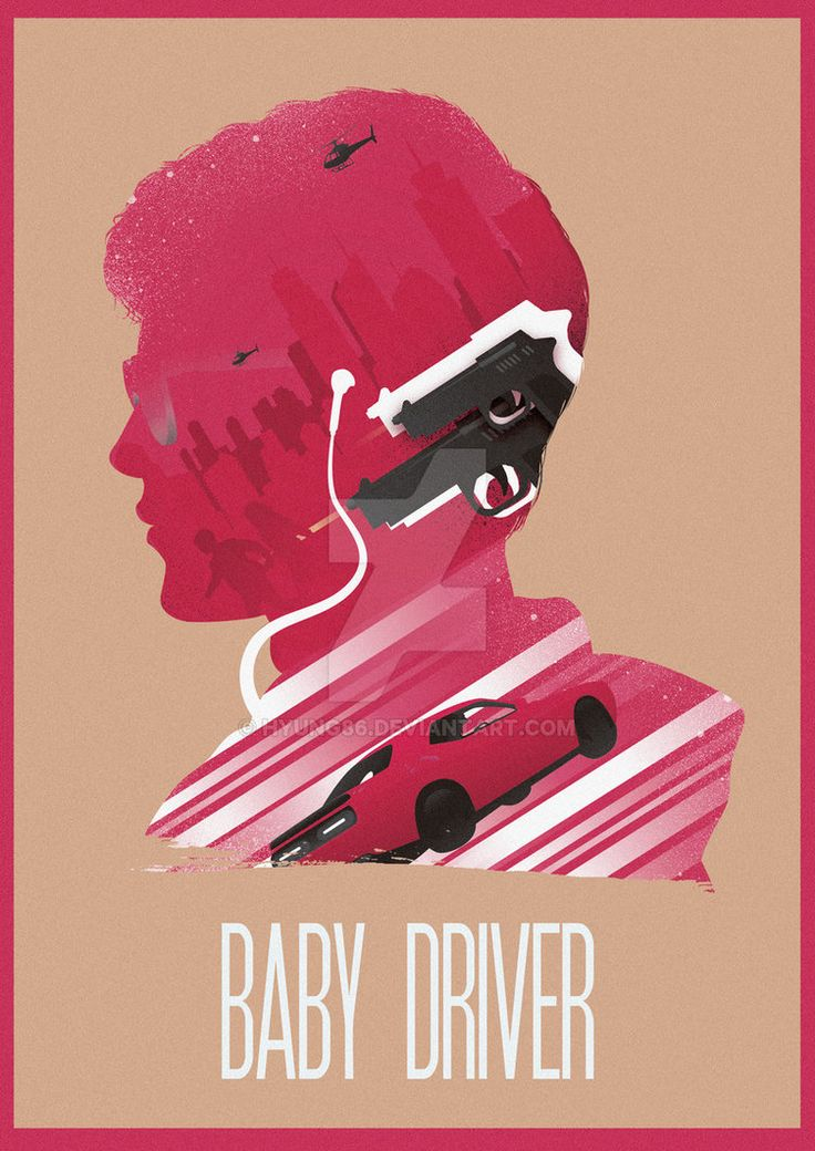 The Many Faces of Cinema: Baby Driver by Hyung86