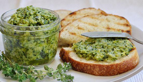 Olive Oil Zucchini Butter / Lucero Blog