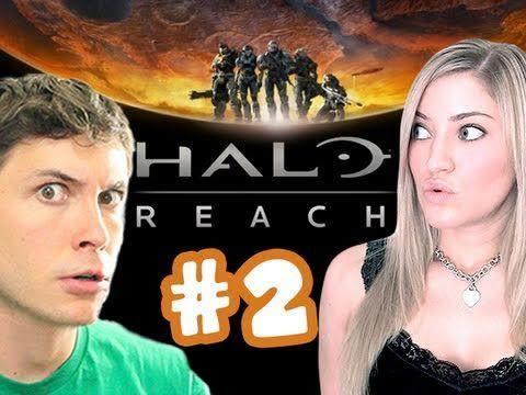 HELLO HALO! HALO Reach Online Ep #2 (feat Tobuscus)