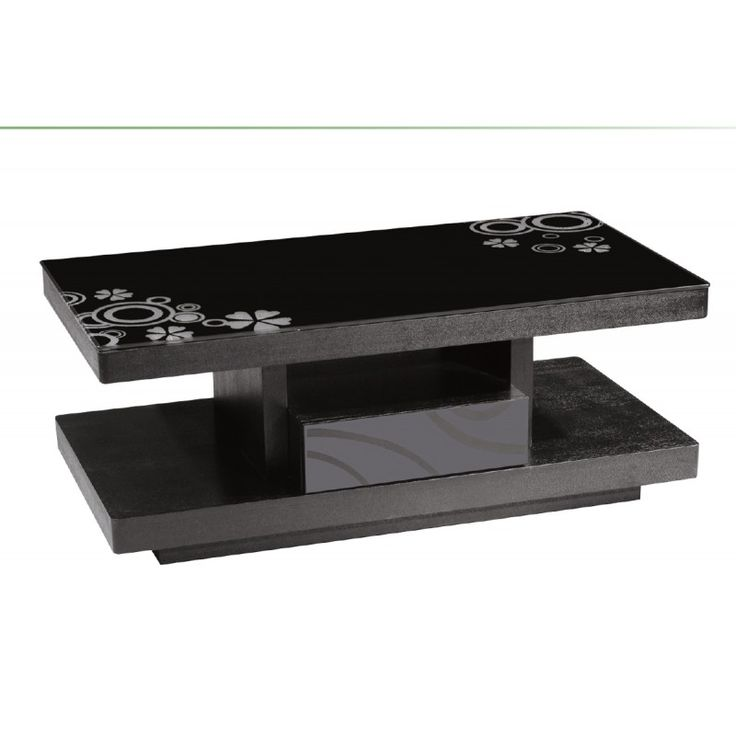 Coffee table Scott wenge-glass 8mm 120x60x41 Ε7712