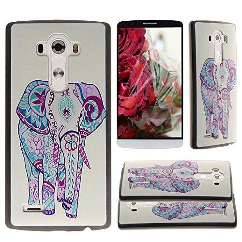 Asnlove per LG G3 D855 Custodia a guscio in policarbonato plastica rigida di telefono cover case posteriore protettivo-Elefante Colorato Asnlove http://www.amazon.it/dp/B00YGUFWI0/ref=cm_sw_r_pi_dp_1ANFwb1CHKVNZ