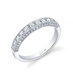 Style #BSY727  0.51 Carat Diamond Wedding band    Gorgeous 18k white gold diamond wedding band.: Diamond Wedding Bands, Baby Band, 10 Year, Wedding Styles, Dream Wedding, Band Gorgeous, Band Ideas, Anniversary Gifts