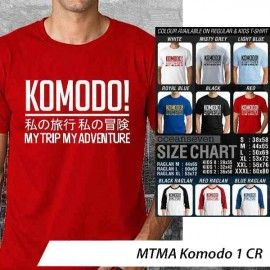 T-Shirt #MTMA #Komodo 1 CR