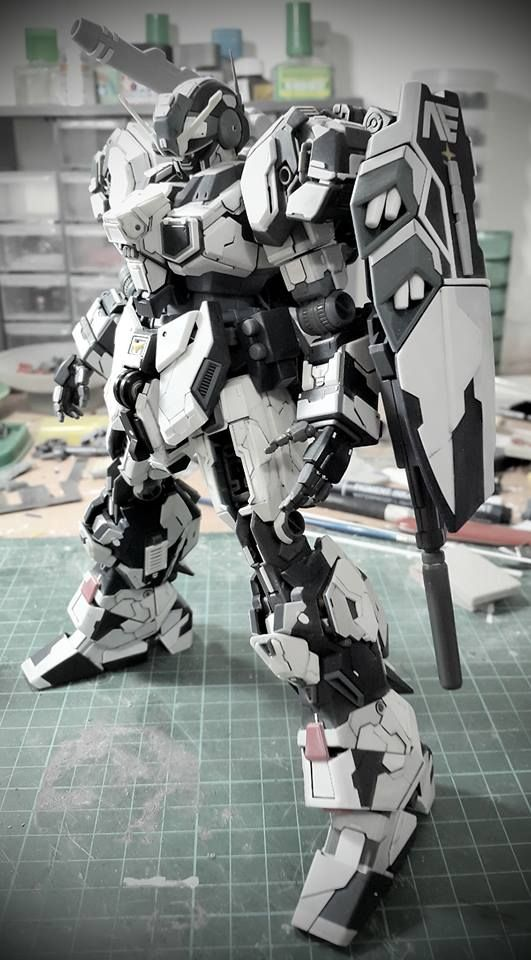 MG 1/100 Jesta Geminion - Ifan Cusianto|| I want to paint like this one day...