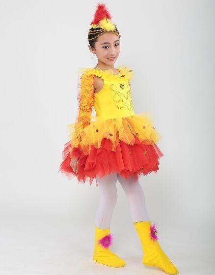 86127ac57 yellow chicken costume child animal party clothing children chicken ...