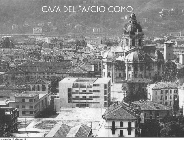 Image result for casa-del-fascio como Vecchie fotografie