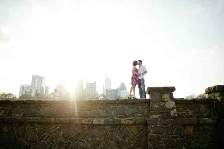 Piedmont Park Engagement Pictures