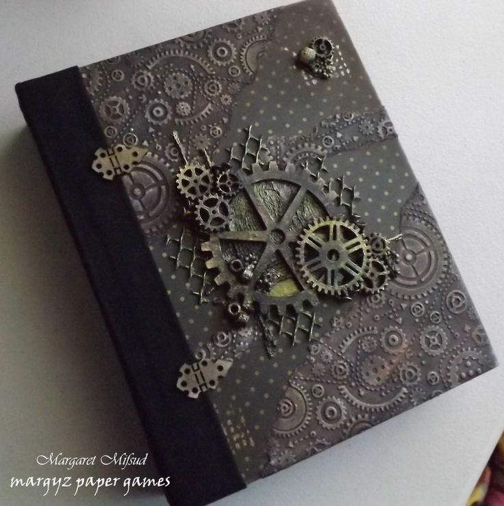 Margyz Paper Games: Mini Album using Kaisercraft Papers
