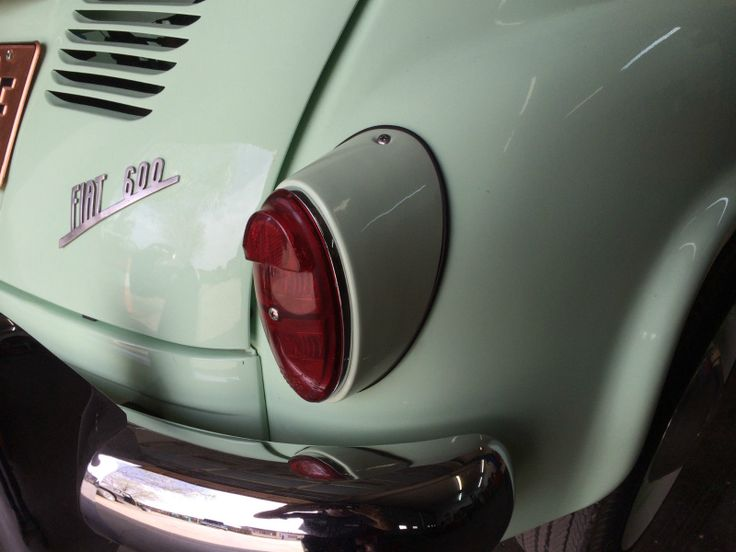 '58 Fiat  Mulitpla Six Seater
