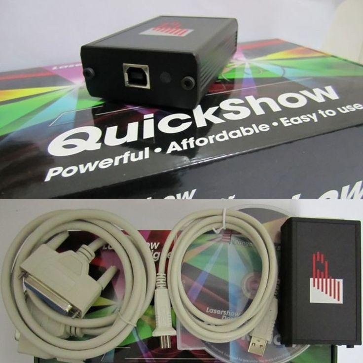 New arrival Quickshow PANGOLIN DESIGNER USB Software for LASER SHOW