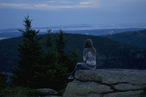 Acadia National Park - looks a lot like Top of the World in Tahoe