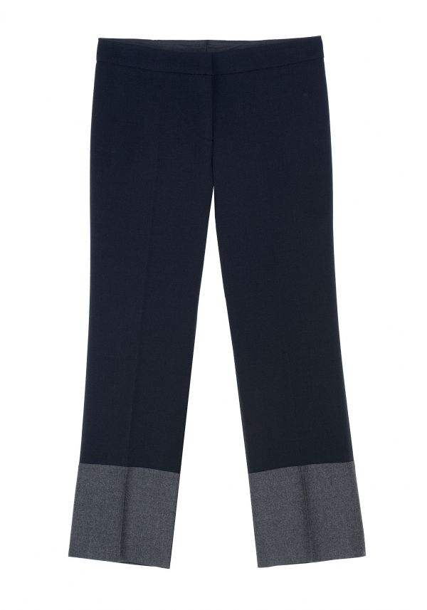 QL2 - PAMELA COLOR BLOCK PANT  (SOMETIMES I NEED BLUE) #women's #fashion