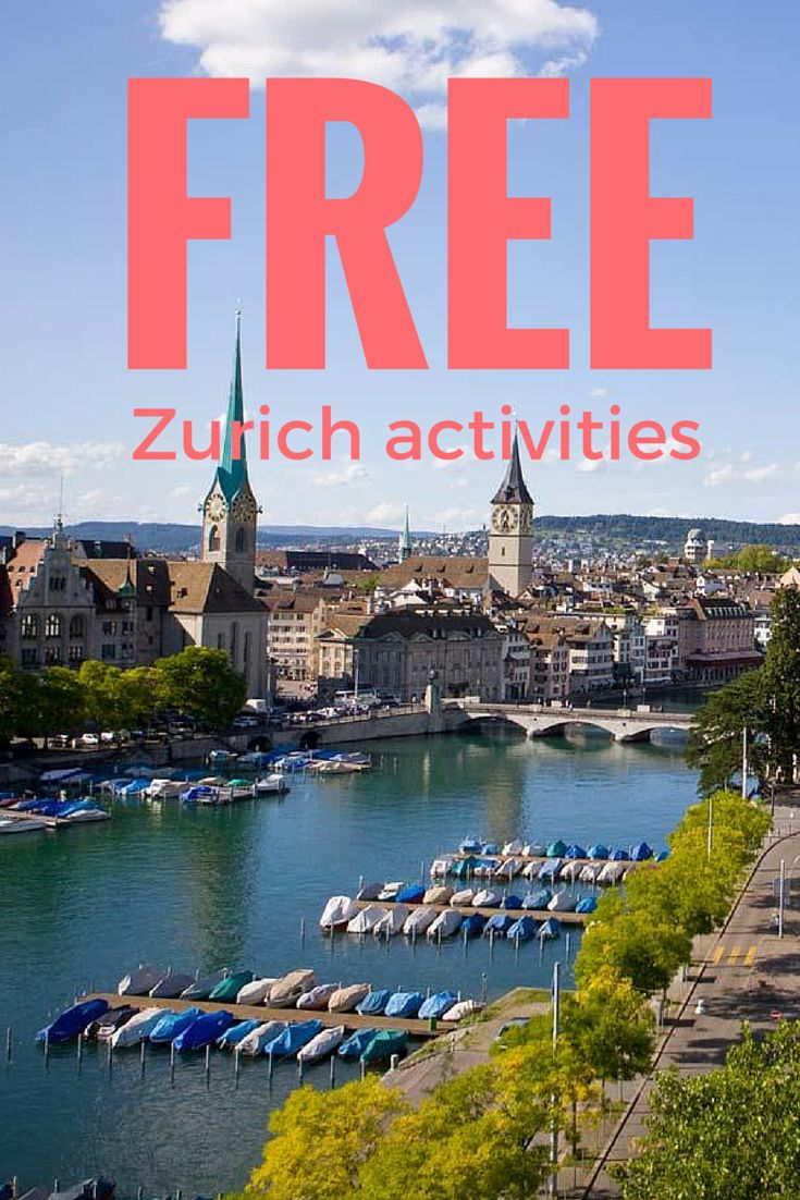 Free guide to Zurich. Find the best free activities, free transportation in one of the world most expensive cities!