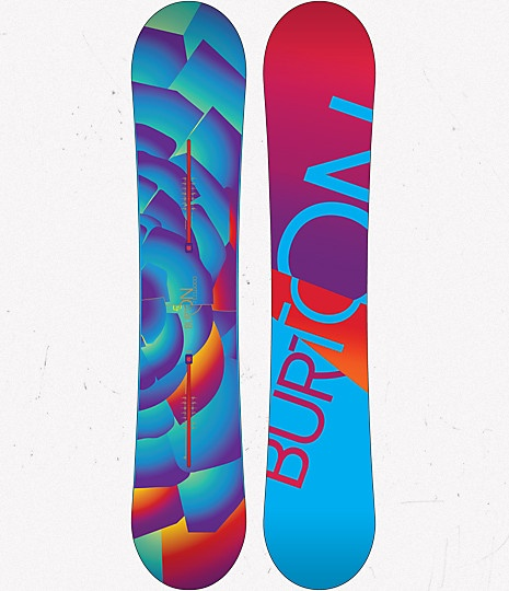 My snowboard, just a different design/year. Burton FeelGood Pro Model