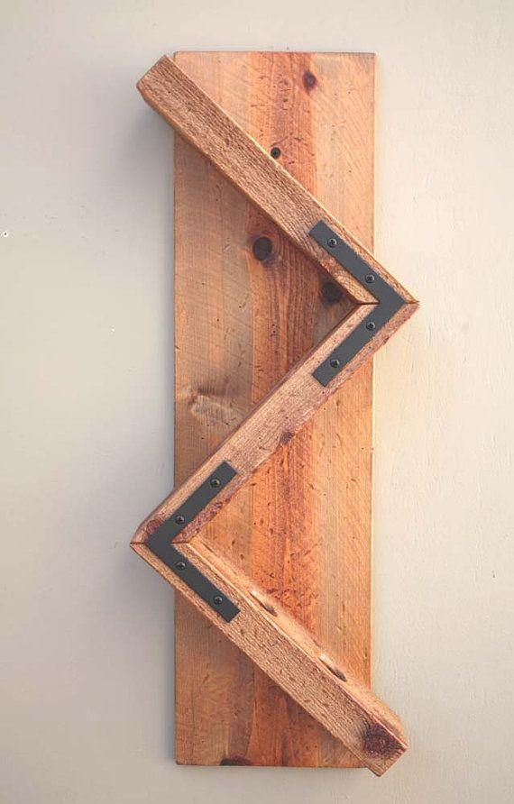 1000 ideas sobre bastidores de vino de madera en - Estantes de madera para pared ...