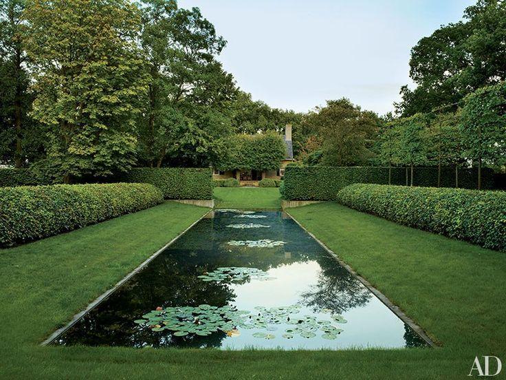 Reflecting Pool - garden in Djikerhoek Holland