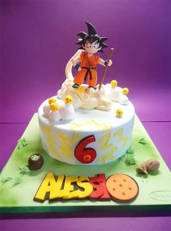 Les plus beaux gâteaux geeks - Dragon Ball