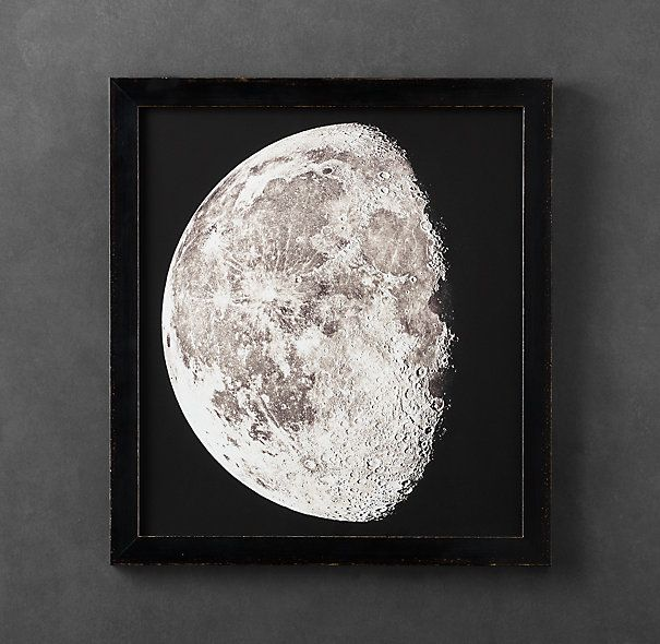 A series of the moon for my bedroom? 1896 Moon Photogravure Print 2