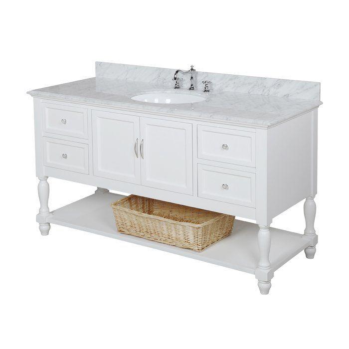 Cedardale 60 Single Bathroom Vanity Set Traditional Bathroom
