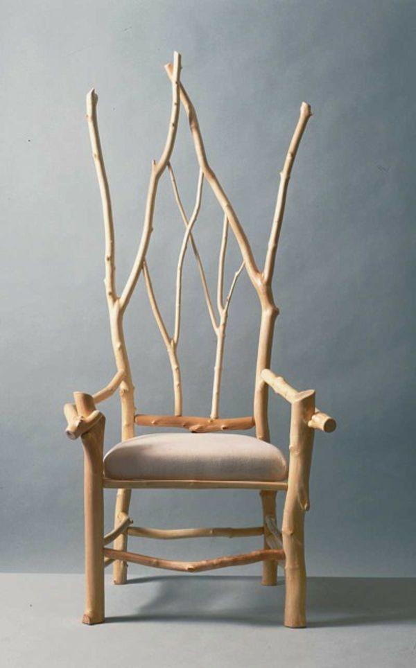 Les 25 meilleures id es concernant chaise rustique sur pinterest bouquet de - Chaise originale design ...