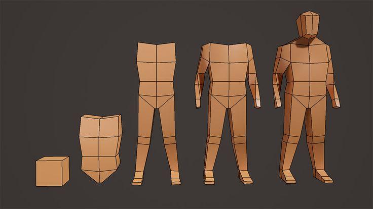Maya Modeling: Body Blocking