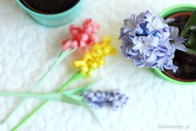 Papierowe hiacynty w wersji DIY - instrukcja już do obejrzenia na blogu :)  #hiacynt #hiacynty #zpapieru #kwiat #kwiatek #kwiaty #kwiatki #papierowekwiaty #diy #wiosna #hyacinth #hyacinths #flower #flowers #paper #zróbtosam #spring #springdecorations #dekoracjewiosenne #papercraft #papercrafts #craft #crafts #handmade #tutorial #poradnik #jakzrobić #howto #sposóbwykonania #instrukcja #instruction #lubietworzyc