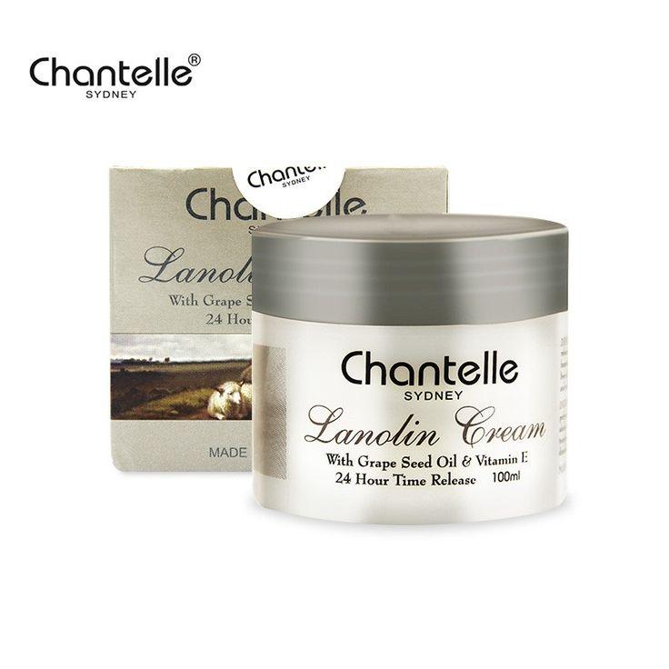 Australia Chantelle Lanolin Cream Grape Seed Oil VE Anti-aging Anti wrinkle Moisturizing Rejuvenating Lanolin Cream for dry skin #Affiliate