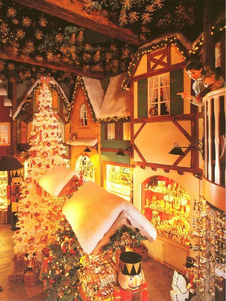 Riquewihr Christmas Shop, Riquewihr, Alsace, France