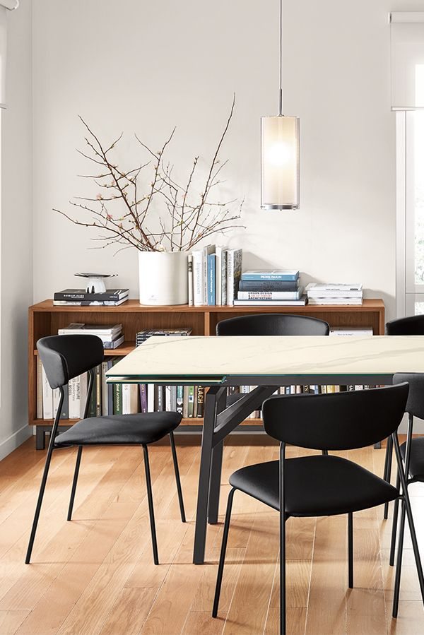 Benning Extension Table Modern Dining Tables Modern Dining