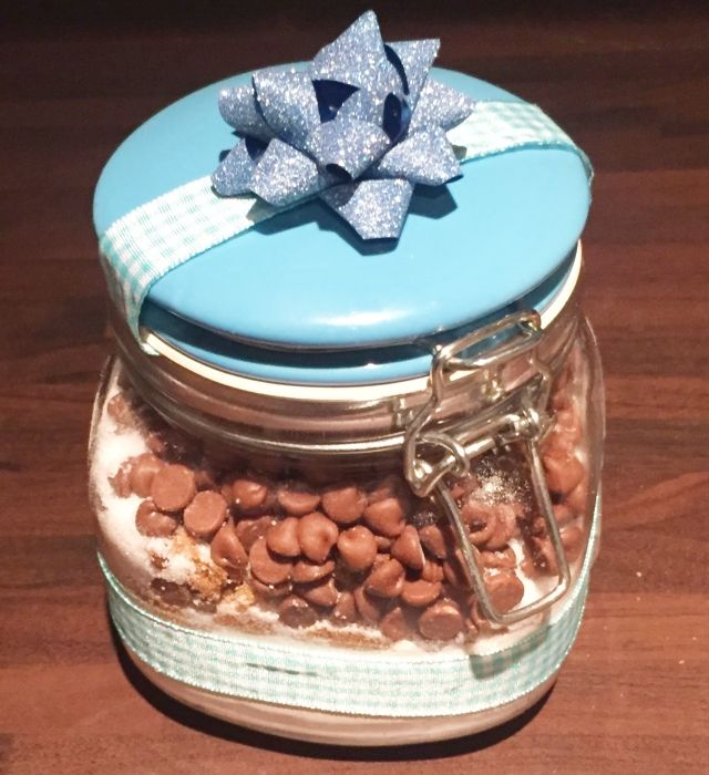 Craft Advent: Day 3: Cookies in a Jar (for the Thrifty Gifty Person) |Where Wishes Come From