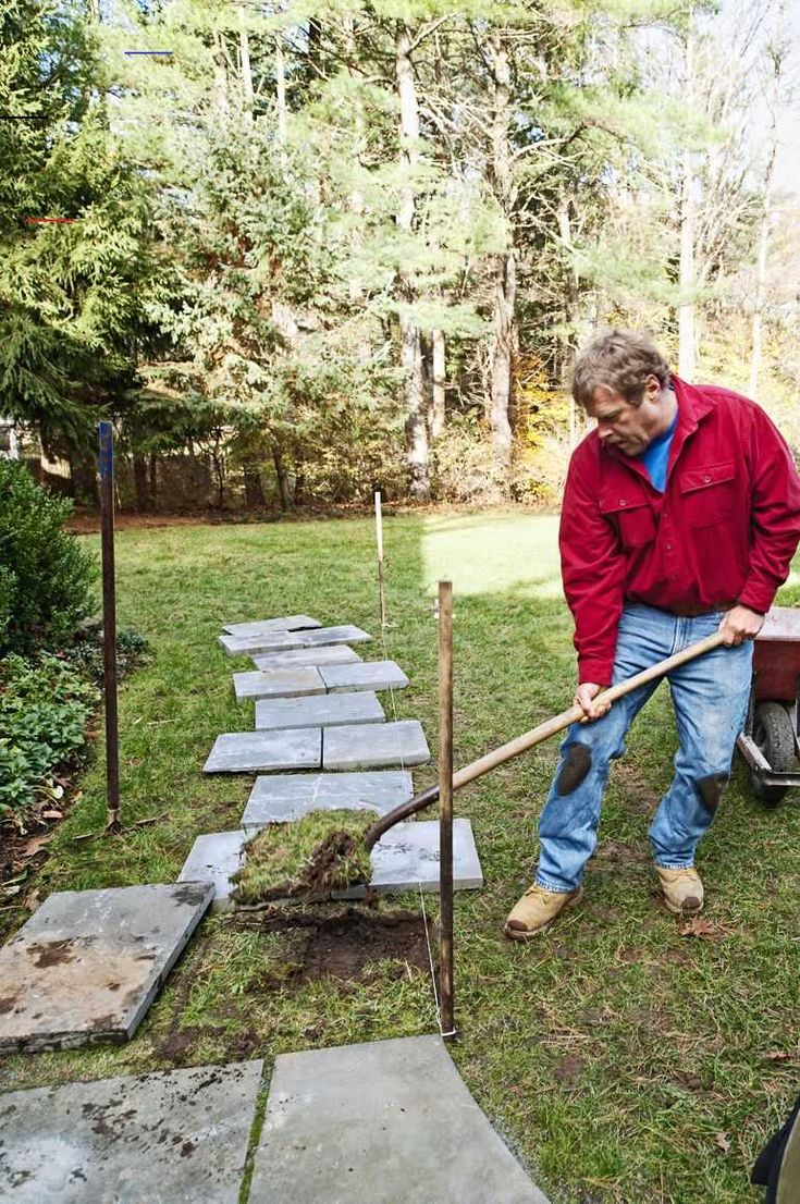 how to lay a stepping stone path steppingstonespathway on extraordinary garden stone pathway ideas to copy id=68983