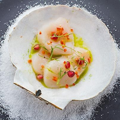 Drunken Scallops: Scallop Ceviche- Learn to make scallops ceviche from Martin Morales Ceviche: Peruvian Kitchen