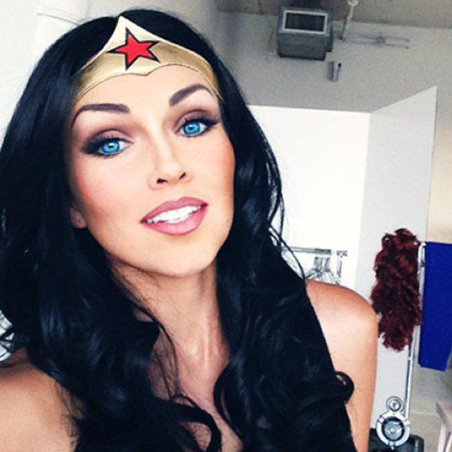 Pin for Later: See 1 Makeup Pro Transform Into Kylie Jenner, Elsa, and More! Wonder Woman