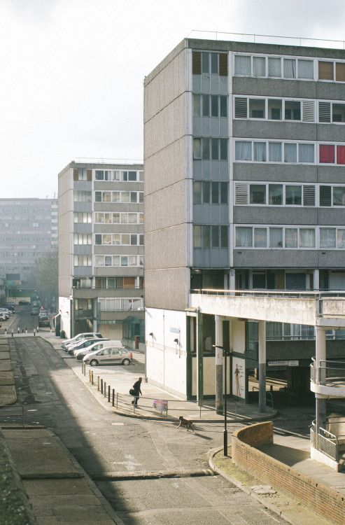 exploringsouthlondon:  SE17 - Walworth  The Aylesbury Estate one of Londons biggest housing estates - which is most likely going to be demolished in order to leave space to some more soulless luxury 1-2-3 bedroom flats that no one will be able to afford. Oh dear poor ol London.
