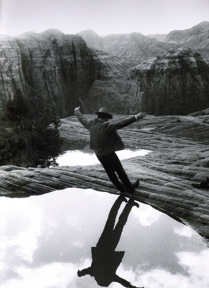 Paul Newman on the set of «Butch Cassidy and the Sundance Kid» (by Jimmy Mitchell, 1969)    [:::SemAp:::]