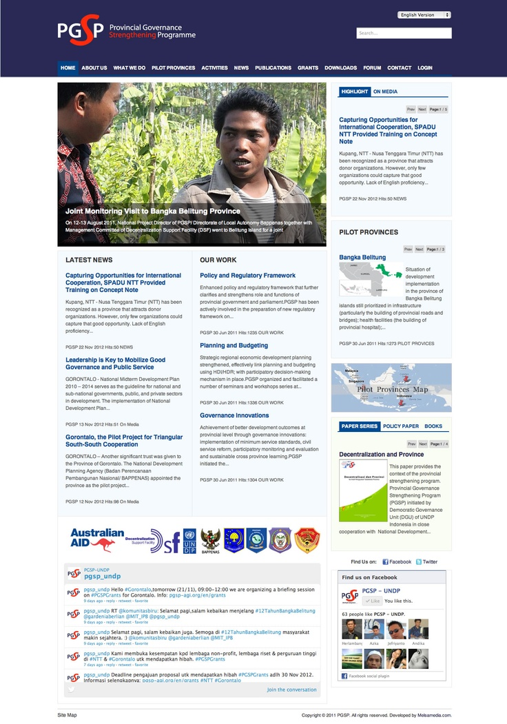 www.pgsp-agi.org - UNDP Indonesia
