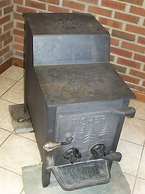 Details About Vintage Fisher Grandpa Bear Wood Stove