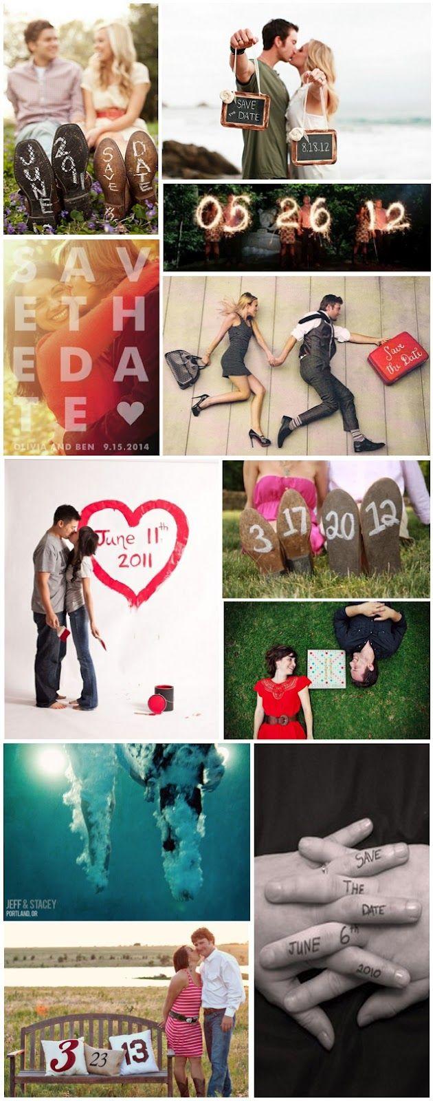 Creative Wedding Save the Date