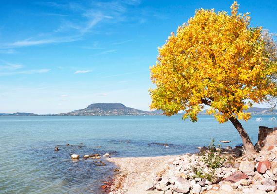 Balaton in autumn