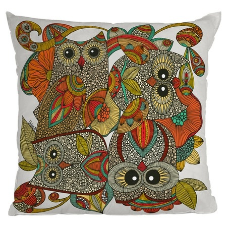 Valentina Ramos Four Owls Throw Pillow from the Deny Designs event at Joss and Main!