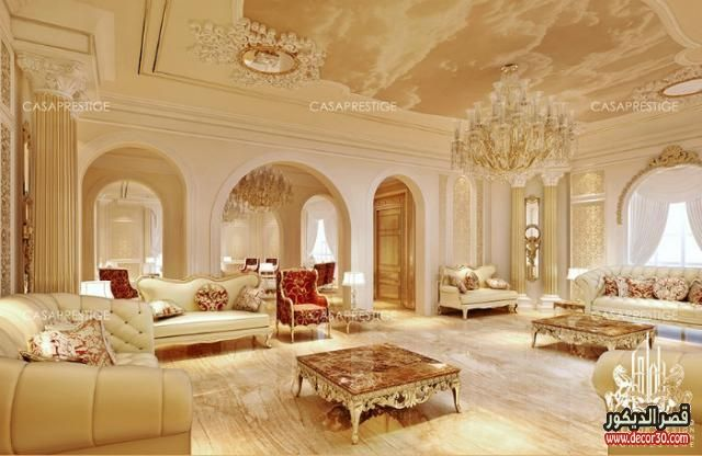 كنبات مجالس عربية حديثة Modern Arab Councils 2018 قصر الديكور Luxury Homes Interior Luxury Interior Luxury Interior Design