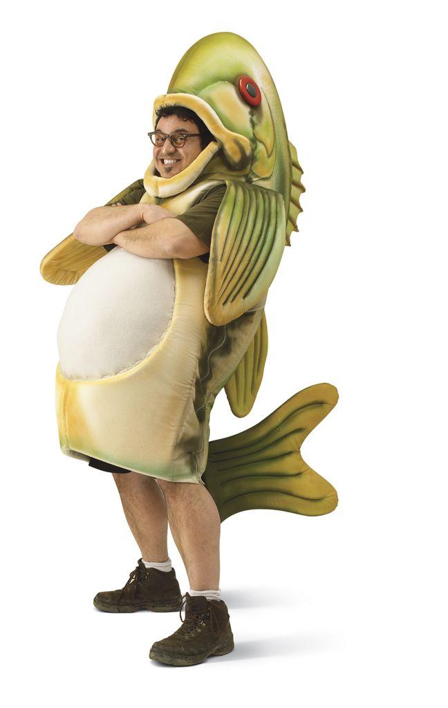 Fish costume comcast fish costume diycraft costume for Fish costume men