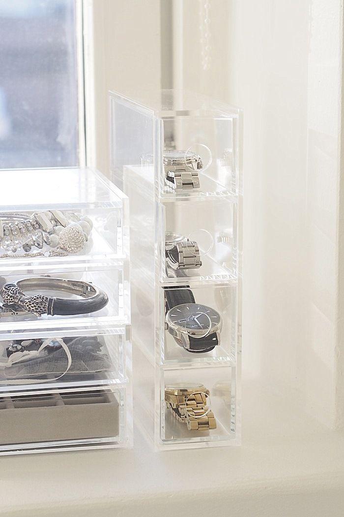 Clear and visible storage so you actually use the things you have!
