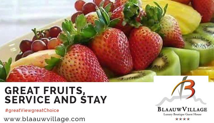 Marvelous forest full of gorgeous fruits at BlaauwVillage Boutique Guest House. #greatFoodgreatChoice #greatFruitsgreatLocation