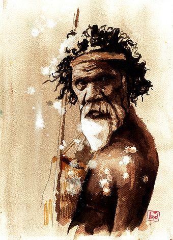Peter Lloyd, Australian Artist | People David Gulpilil