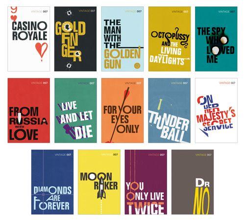 James Bond series. Designer?