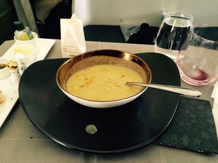 Nohutlu bal kabağı çorbası