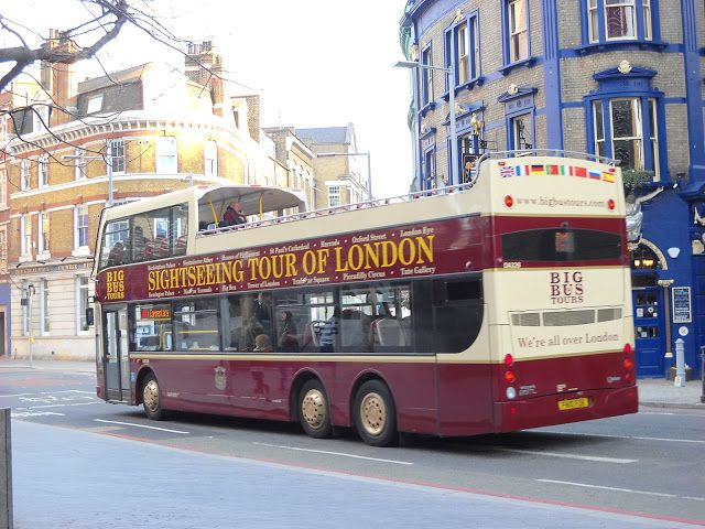MĚSTO PRAHA: BIG BUS na skok do Londýna jako domů